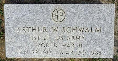SCHWALM, ARTHUR - Haakon County, South Dakota | ARTHUR SCHWALM - South Dakota Gravestone Photos