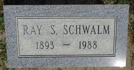 SCHWALM, RAY - Haakon County, South Dakota | RAY SCHWALM - South Dakota Gravestone Photos