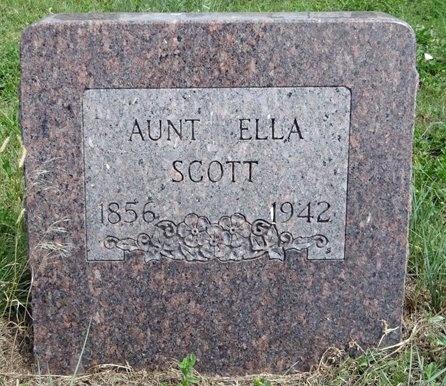 SCOTT, ELLA - Haakon County, South Dakota | ELLA SCOTT - South Dakota Gravestone Photos
