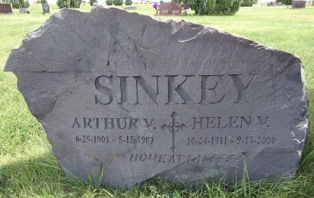 SINKEY, ARTHUR - Haakon County, South Dakota | ARTHUR SINKEY - South Dakota Gravestone Photos