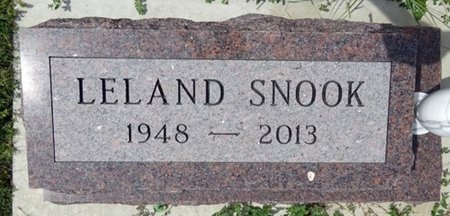 SNOOK, LELAND - Haakon County, South Dakota | LELAND SNOOK - South Dakota Gravestone Photos