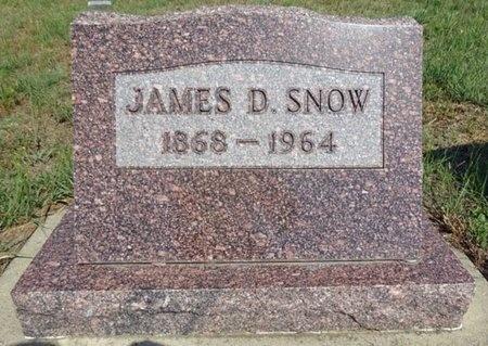SNOW, JAMES - Haakon County, South Dakota   JAMES SNOW - South Dakota Gravestone Photos