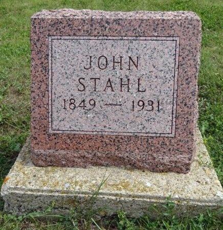 STAHL, JOHN - Haakon County, South Dakota   JOHN STAHL - South Dakota Gravestone Photos