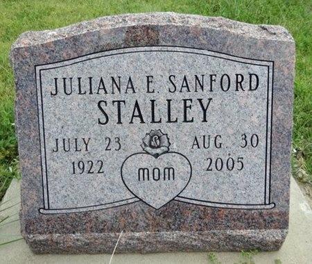 SANFORD STALLEY, JULIANA - Haakon County, South Dakota | JULIANA SANFORD STALLEY - South Dakota Gravestone Photos