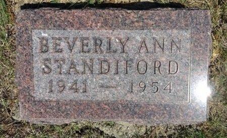 STANDIFORD, BEVERLY - Haakon County, South Dakota | BEVERLY STANDIFORD - South Dakota Gravestone Photos