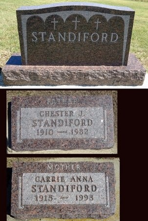 STANDIFORD, CARRIE - Haakon County, South Dakota | CARRIE STANDIFORD - South Dakota Gravestone Photos