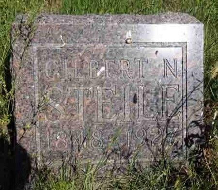STEILE, GILBERT - Haakon County, South Dakota | GILBERT STEILE - South Dakota Gravestone Photos