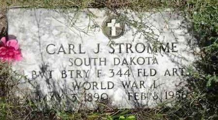 STROMME, CARL - Haakon County, South Dakota | CARL STROMME - South Dakota Gravestone Photos