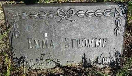STROMME, EMMA - Haakon County, South Dakota | EMMA STROMME - South Dakota Gravestone Photos