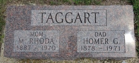 TAGGART, M. RHODA - Haakon County, South Dakota | M. RHODA TAGGART - South Dakota Gravestone Photos