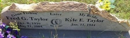 TAYLOR, KYLE - Haakon County, South Dakota | KYLE TAYLOR - South Dakota Gravestone Photos