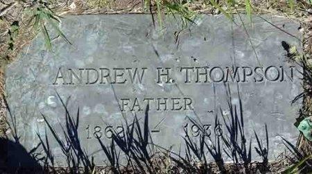 THOMPSON, ANDREW - Haakon County, South Dakota   ANDREW THOMPSON - South Dakota Gravestone Photos