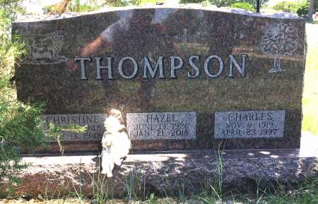 THOMPSON, HAZEL - Haakon County, South Dakota | HAZEL THOMPSON - South Dakota Gravestone Photos