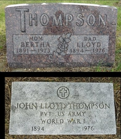 THOMPSON, BERTHA - Haakon County, South Dakota | BERTHA THOMPSON - South Dakota Gravestone Photos
