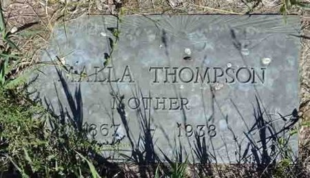 THOMPSON, MALLA - Haakon County, South Dakota | MALLA THOMPSON - South Dakota Gravestone Photos