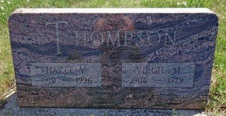 THOMPSON, VIRGIL - Haakon County, South Dakota | VIRGIL THOMPSON - South Dakota Gravestone Photos
