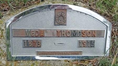 THOMPSON, VEDA - Haakon County, South Dakota | VEDA THOMPSON - South Dakota Gravestone Photos