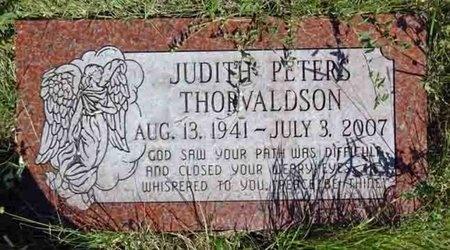 THORVALDSON, JUDITH - Haakon County, South Dakota | JUDITH THORVALDSON - South Dakota Gravestone Photos