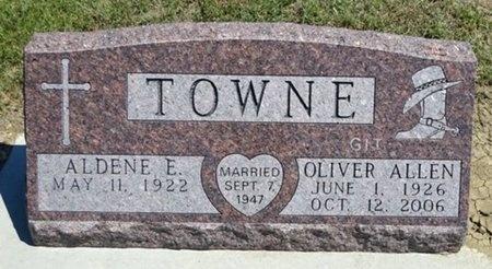 TOWNE, ALDENE - Haakon County, South Dakota | ALDENE TOWNE - South Dakota Gravestone Photos