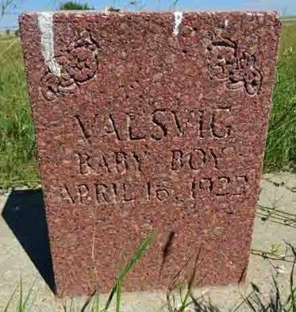 VALSVIG, BABY BOY - Haakon County, South Dakota | BABY BOY VALSVIG - South Dakota Gravestone Photos