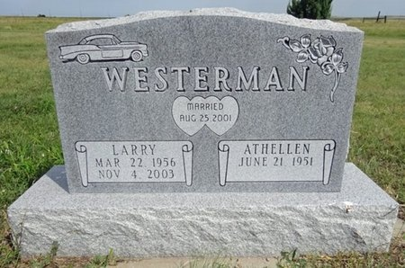 WESTERMAN, ATHELLEN - Haakon County, South Dakota | ATHELLEN WESTERMAN - South Dakota Gravestone Photos