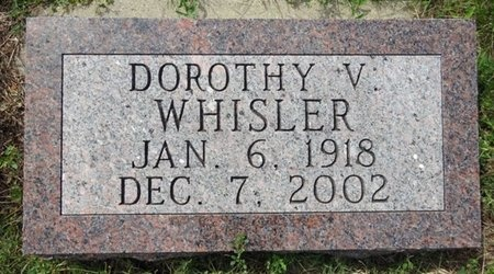 WHISLER, DOROTHY - Haakon County, South Dakota | DOROTHY WHISLER - South Dakota Gravestone Photos
