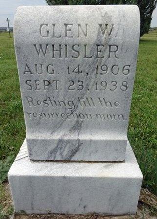 WHISLER, GLEN - Haakon County, South Dakota | GLEN WHISLER - South Dakota Gravestone Photos