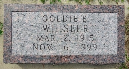 WHISLER, GOLDIE - Haakon County, South Dakota | GOLDIE WHISLER - South Dakota Gravestone Photos