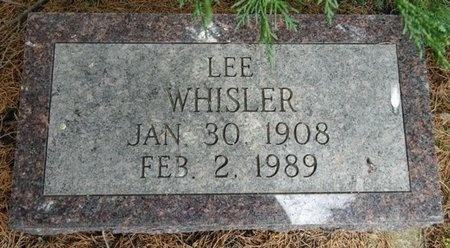 WHISLER, LEE - Haakon County, South Dakota | LEE WHISLER - South Dakota Gravestone Photos