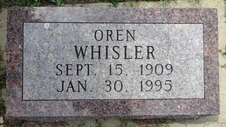 WHISLER, OREN - Haakon County, South Dakota   OREN WHISLER - South Dakota Gravestone Photos