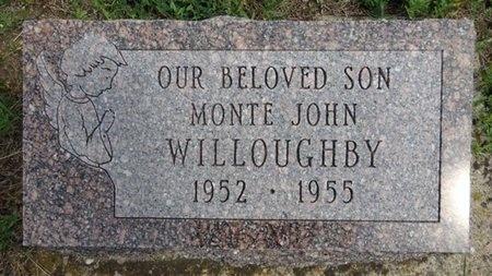 WILLOUGHBY, MONTE - Haakon County, South Dakota   MONTE WILLOUGHBY - South Dakota Gravestone Photos