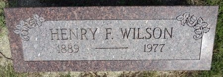 WILSON, HENRY - Haakon County, South Dakota | HENRY WILSON - South Dakota Gravestone Photos