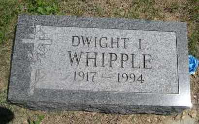 WIPPLE, DSIGHT L. - Haakon County, South Dakota | DSIGHT L. WIPPLE - South Dakota Gravestone Photos