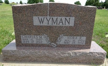 NEMEC WYMAN, NORA - Haakon County, South Dakota | NORA NEMEC WYMAN - South Dakota Gravestone Photos