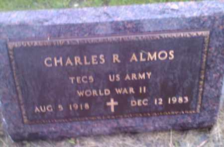 ALMOS, CHARLES R (MILITARY) - Hamlin County, South Dakota | CHARLES R (MILITARY) ALMOS - South Dakota Gravestone Photos