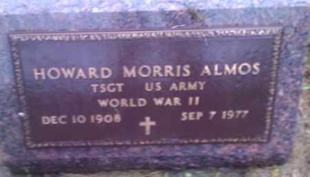 ALMOS, HOWARD MORRIS (MILITARY) - Hamlin County, South Dakota | HOWARD MORRIS (MILITARY) ALMOS - South Dakota Gravestone Photos