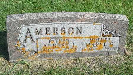 AMERSON, ALBERT I - Hamlin County, South Dakota | ALBERT I AMERSON - South Dakota Gravestone Photos
