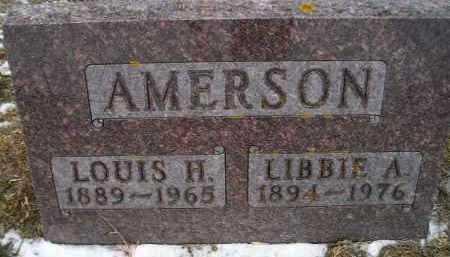 AMERSON, LOUIS H - Hamlin County, South Dakota | LOUIS H AMERSON - South Dakota Gravestone Photos
