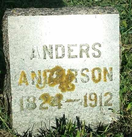 ANDERSON, ANDERS - Hamlin County, South Dakota | ANDERS ANDERSON - South Dakota Gravestone Photos