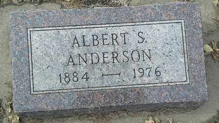ANDERSON, ALBERT S - Hamlin County, South Dakota | ALBERT S ANDERSON - South Dakota Gravestone Photos