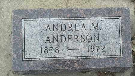 ANDERSON, ANDREA M - Hamlin County, South Dakota | ANDREA M ANDERSON - South Dakota Gravestone Photos