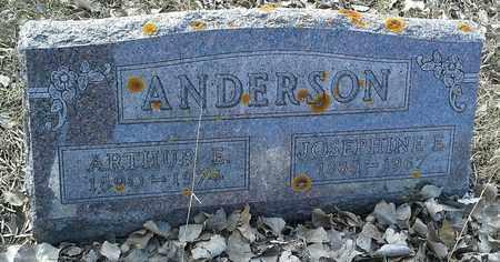 ANDERSON, JOSEPHINE E - Hamlin County, South Dakota | JOSEPHINE E ANDERSON - South Dakota Gravestone Photos