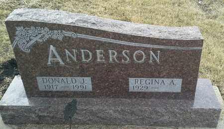 ANDERSON, DONALD J - Hamlin County, South Dakota   DONALD J ANDERSON - South Dakota Gravestone Photos