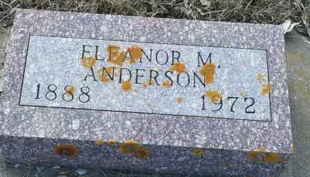 ANDERSON, ELEANOR M - Hamlin County, South Dakota | ELEANOR M ANDERSON - South Dakota Gravestone Photos