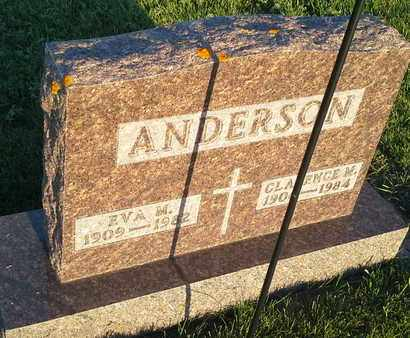 ANDERSON, EVA M - Hamlin County, South Dakota | EVA M ANDERSON - South Dakota Gravestone Photos