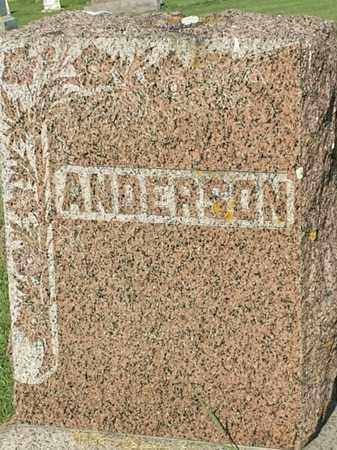 ANDERSON, FAMILY STONE - Hamlin County, South Dakota   FAMILY STONE ANDERSON - South Dakota Gravestone Photos