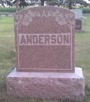 ANDERSON, FAMILY STONE - Hamlin County, South Dakota | FAMILY STONE ANDERSON - South Dakota Gravestone Photos