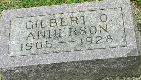 ANDERSON, GILBERT O - Hamlin County, South Dakota | GILBERT O ANDERSON - South Dakota Gravestone Photos