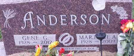 ANDERSON, GENE G - Hamlin County, South Dakota | GENE G ANDERSON - South Dakota Gravestone Photos