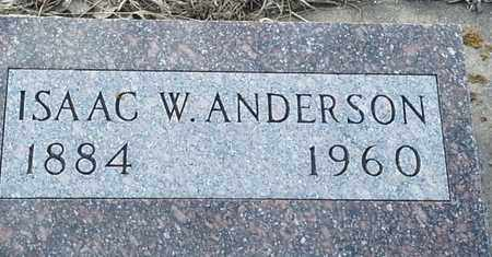 ANDERSON, ISAAC W - Hamlin County, South Dakota | ISAAC W ANDERSON - South Dakota Gravestone Photos